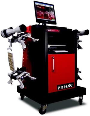 bean prism alignment machine