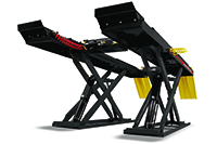 John Bean Locked and Lighted Scissor Alignment Lifts