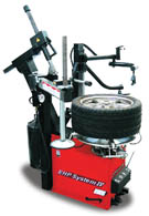 John Bean EHP System IV-E Two-Speed Tilt-Tower Tire Changer