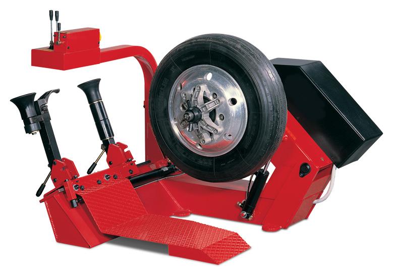 heavy duty tire machine