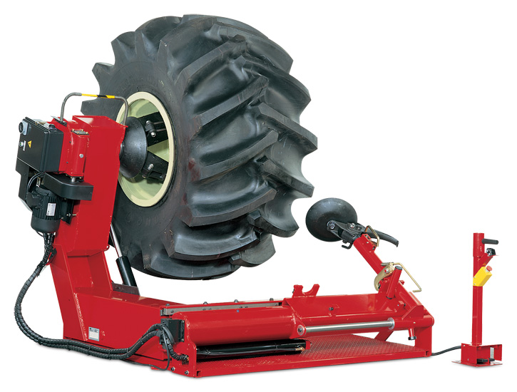 heavy duty tire changer john bean automotive wheel service equipment