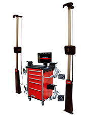 John Bean V3400 Wireless Imaging Wheel Alignment System