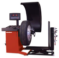 John Bean 9800 Heavy-Duty Wheel Balancer