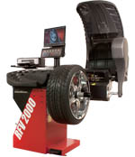 John Bean RFV 2000 Automated Diagnostic Wheel Balancer