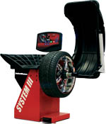 John Bean VPI System III Wheel Balancer