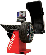 John Bean VPI System IV Wheel Balancer