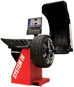 John Bean VPI System IV Wheel Balancer