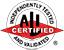 ALI/ETL Certified