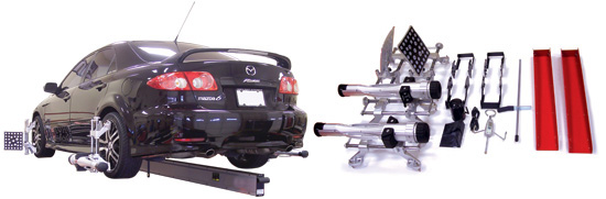 EEWA717ACRNB: Tru-Point Sonic 360 Wheel Alignment Kit