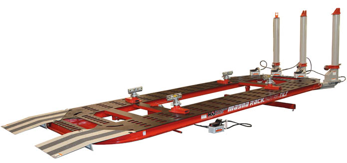 Magna Rack SLT Series Collision Frame Straightening Racks: Kansas ...